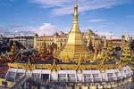 スーレーパゴダ Sule Pagoda