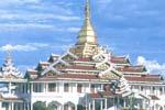 ファウンドーウーパゴダ Phaungdawoo Pagoda
