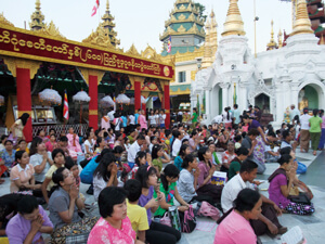 ヤンゴン ミャンマーの中心都市