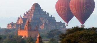 ミャンマーの遺跡