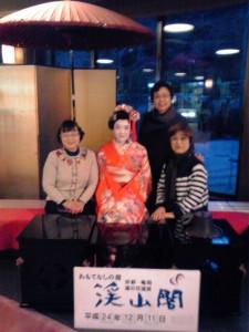 京都 3人旅