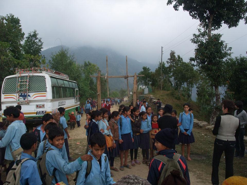 ネパール・シルバリ村とはなのいえ8日間