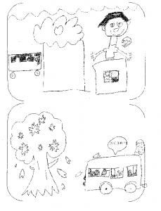 川根みずめ桜ツアー こどもの絵