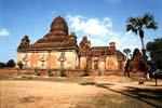 グービャウッヂー寺院 Gubyaukgyi Temple