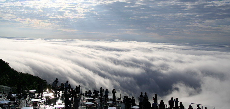 星野リゾートHP 雲海テラス