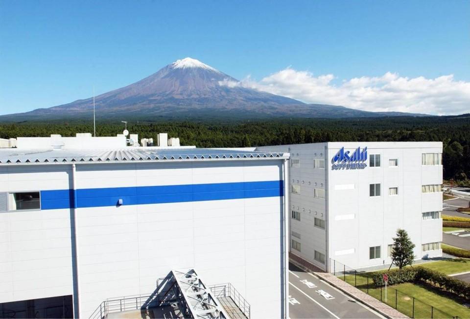 アサヒ富士山工場外観