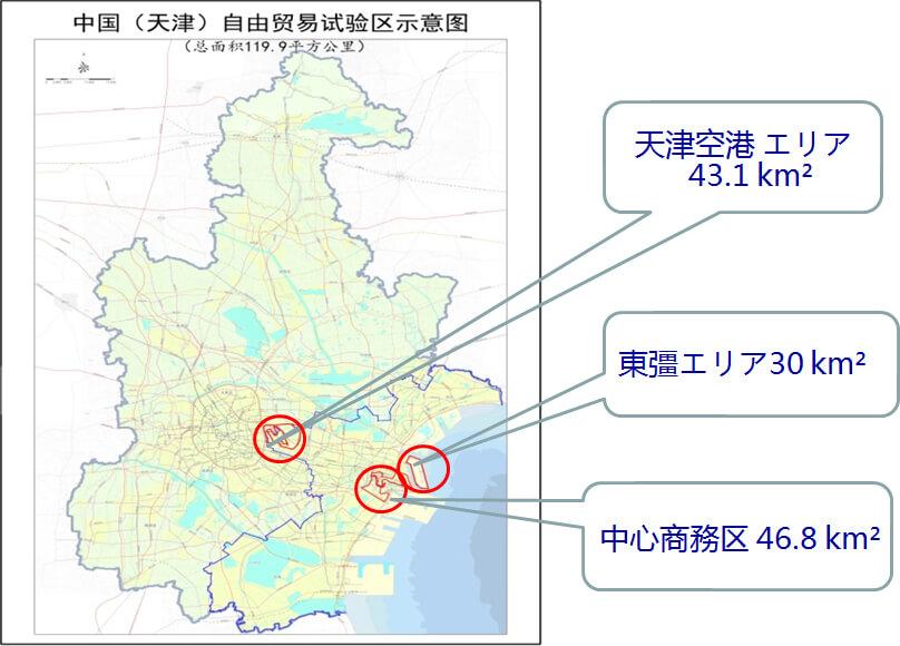 天津浜海新区自由貿易試験区天津東彊保税港区
